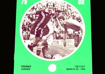Hibs v Dundee 25.03.1980