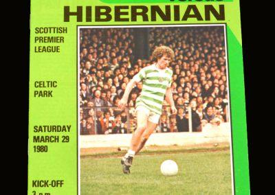 Hibs v Celtic 29.03.1980