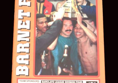 Barnet v Doncaster 14.09.1991