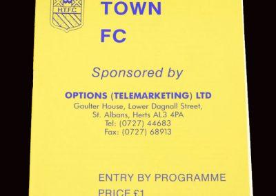 Barnet v Harpenden 09.10.1991 (Centenary Match)