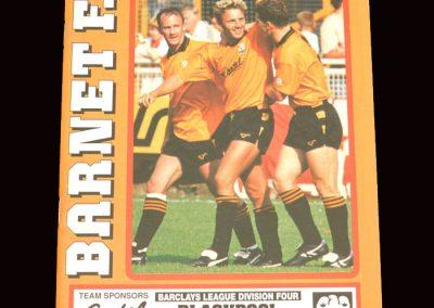 Barnet v Blackpool 19.10.1991