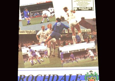 Barnet v Rochdale 23.11.1991