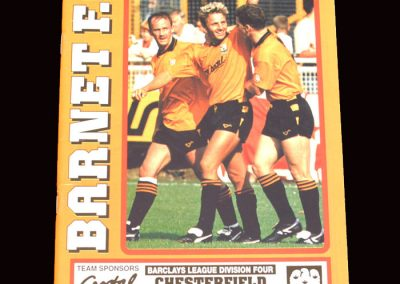 Barnet v Chesterfield 30.11.1991