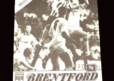 Barnet v Brentford 17.12.1991 - FA Trophy 2nd Round