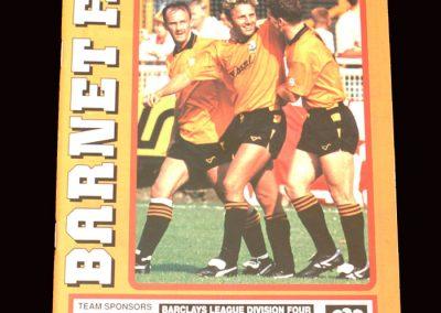 Barnet v Scarborough 08.02.1992