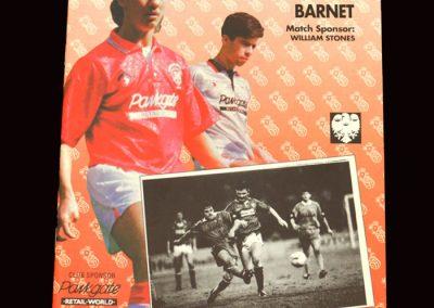 Barnet v Rotherham 22.02.1992