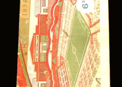 Port Vale v Blackpool 20.02.1954 - FA Cup 5th Round