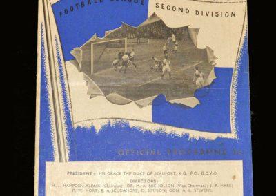 Port Vale v Bristol Rovers 21.08.1954