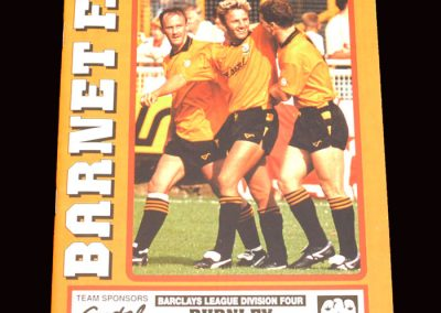 Barnet v Burnley 24.03.1992
