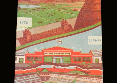 Port Vale v Notts County 23.08.1954