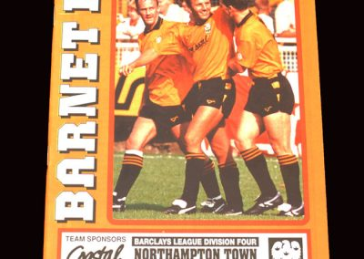 Barnet v Northampton 04.04.1992