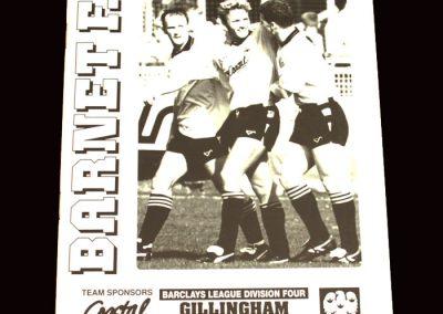 Barnet v Gillingham 18.04.1992