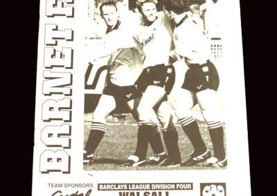 Barnet v Walsall 25.04.1992