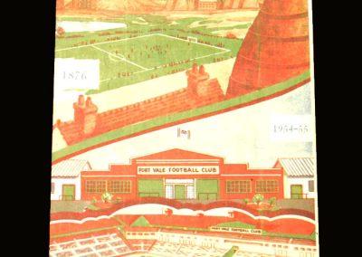 Port Vale v Lincoln City 09.10.1954
