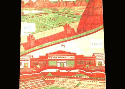 Port Vale v Luton 04.12.1954