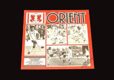 Spurs v Leyton 01.10.1977