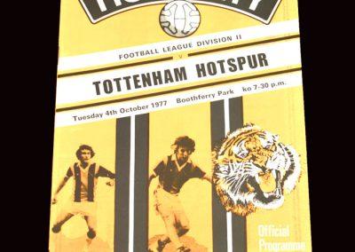 Spurs v Hull 04.10.1977