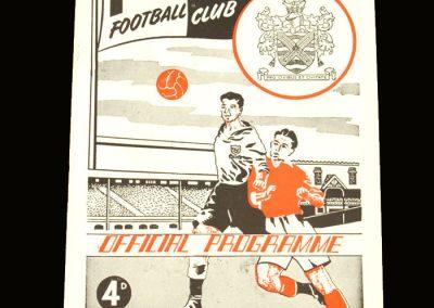 Port Vale v Fulham 25.12.1954