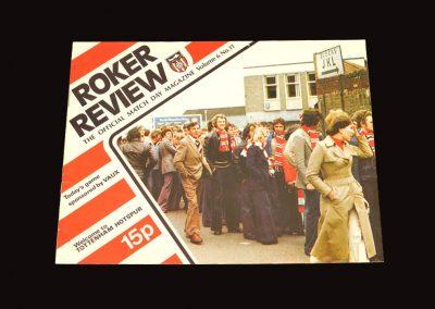 Spurs v Sunderland 10.12.1977