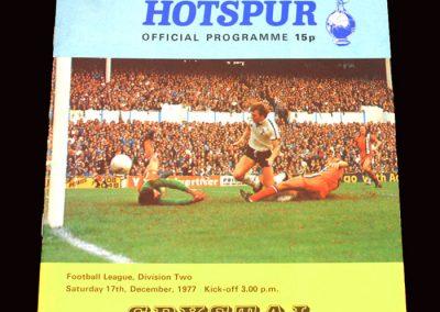 Spurs v Crystal Palace 17.12.1977