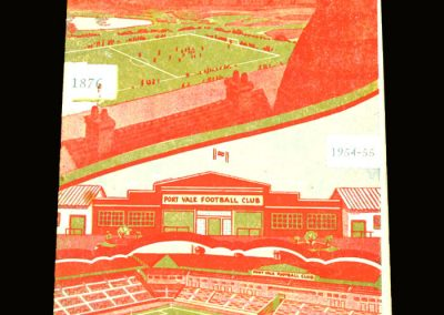 Port Vale v West Ham 12.02.1955