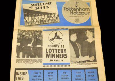 Spurs v Notts County 14.01.1978