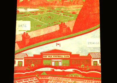 Port Vale v Liverpool 08.04.1955