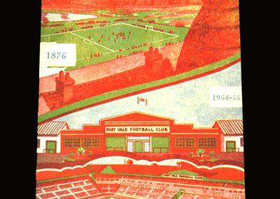 Port Vale v Birmingham 16.04.1955