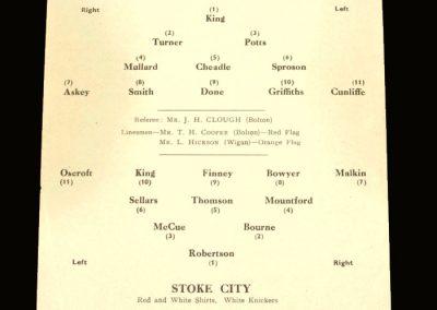 Port Vale v Stoke 25.04.1955