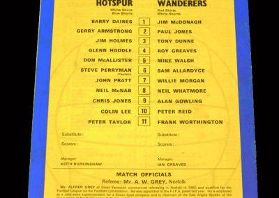 Spurs v Bolton 08.04.1978