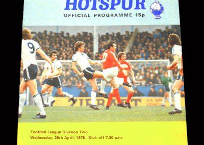 Spurs v Hull 26.04.1978
