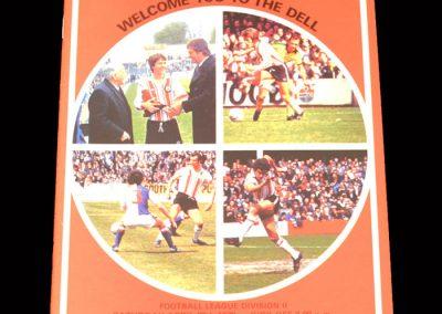 Spurs v Southampton 29.04.1978