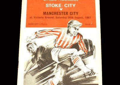 Man City v Stoke 26.08.1967