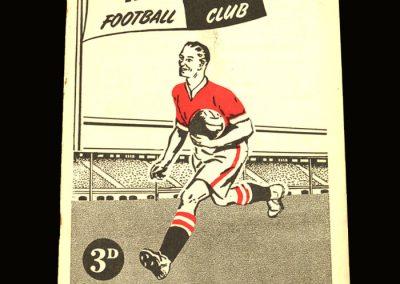 Notts County v Doncaster 07.12.1957