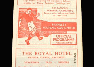 Notts County v Barnsley 26.12.1957