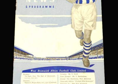 West Brom v Portsmouth 05.10.1957