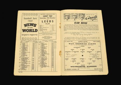 West Brom v Wolves 14.10.1957 - FA Youth Cup 1st Round