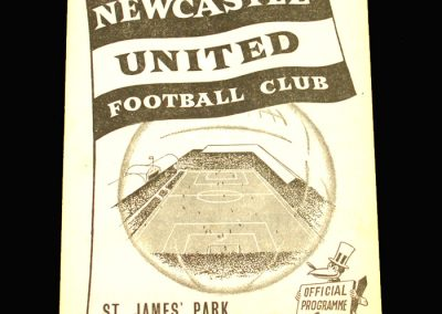 West Brom v Newcastle 21.12.1957