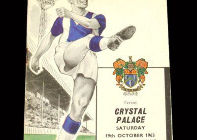 Crystal Palace v Oldham 19.10.1963