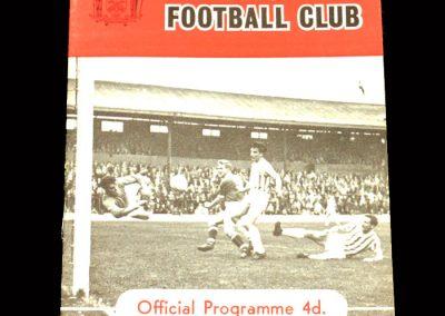 Crystal Palace v Barnsley 30.11.1963