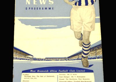 West Brom v Sheff Utd 19.02.1958 FA Cup 5th Round Replay