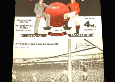 West Brom v Man Utd 08.03.1958