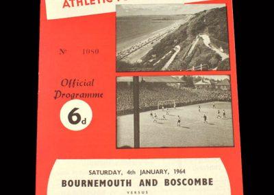 Crystal Palace v Bournemouth 04.01.1964