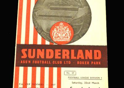 West Brom v Sunderland 22.03.1958