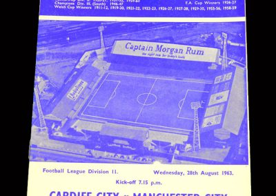 Cardiff v Man City 28.08.1963
