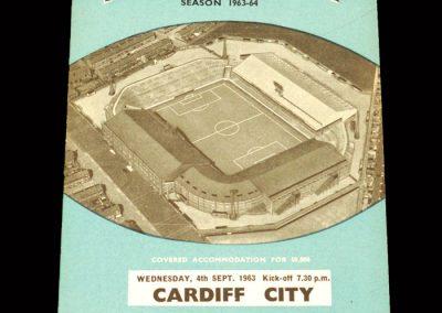 Cardiff v Man City 04.09.1963