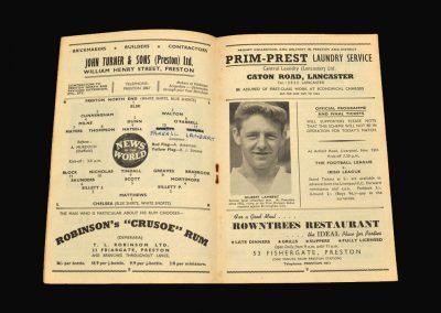 Preston v Chelsea 01.11.1958