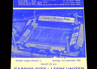Cardiff v Leeds 21.09.1963