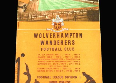 Preston v Wolves 08.11.1958