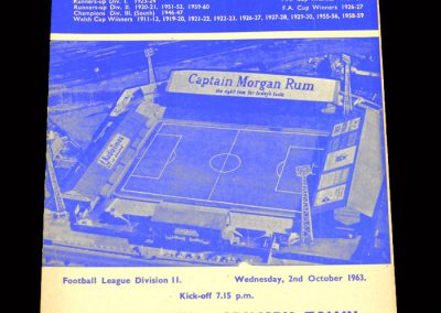 Cardiff v Grimsby 02.10.1963